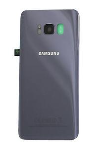 Capac baterie cu sticla camera Samsung S8 G950f Violet Compatibil [0]