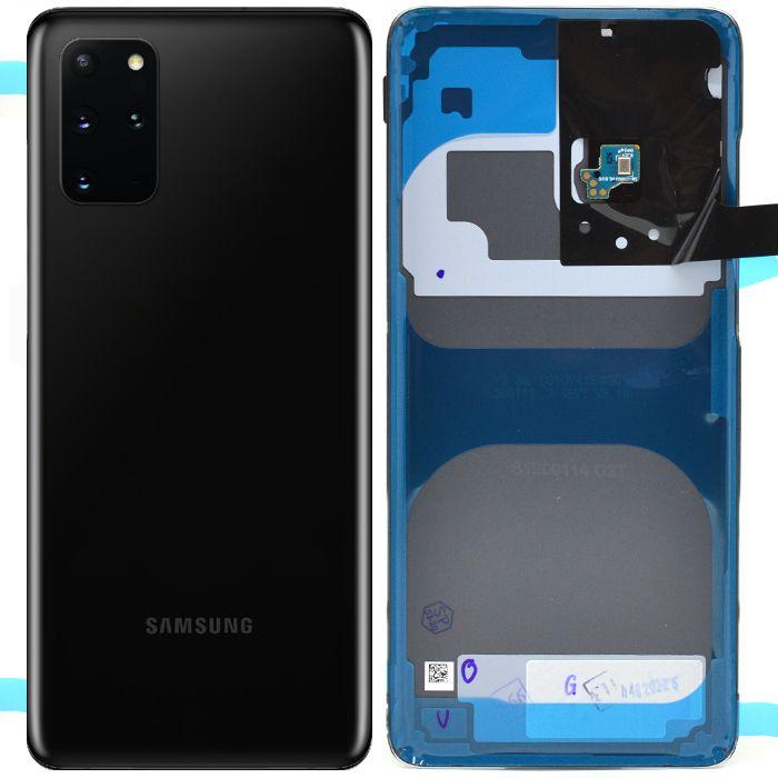 Capac spate sticla spate Samsung S20 Plus G985 Negru [0]