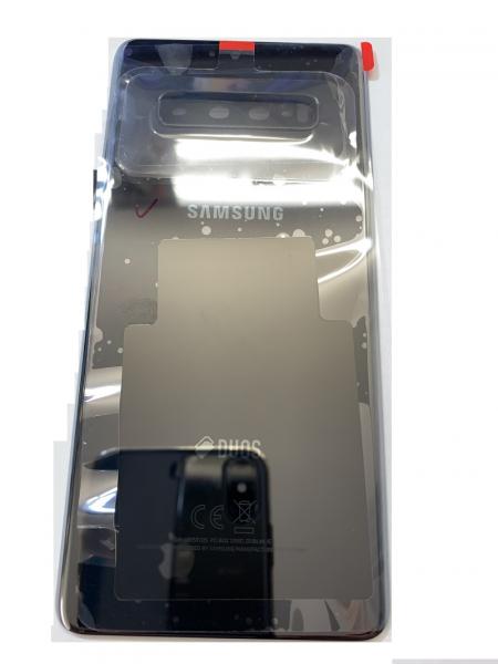 Capac spate sticla spate Samsung S10 Plus G975  Ceramic Black 0