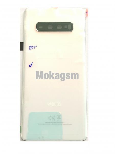 Capac spate sticla spate Samsung S10 Plus G975  White SWAP 0