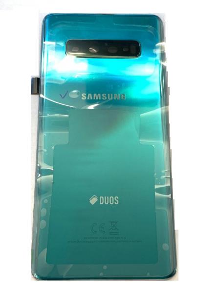 Capac spate sticla spate Samsung S10 Plus G975d Verde Original [0]
