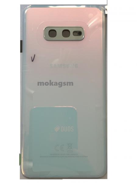 Capac spate sticla spate Samsung S10e G970 Alb Original [0]