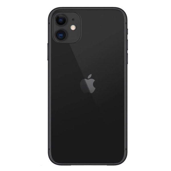 Carcasa spate sticla iPhone 11 Black Original Swap 0