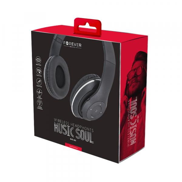 Casca Bluetooth Forever Music Soul BHS-300 black 2