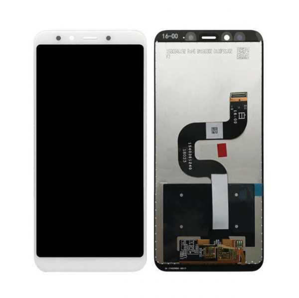 Display cu touchscreen XIAOMI Mi A2, Mi 6X Alb, Compatibil 0