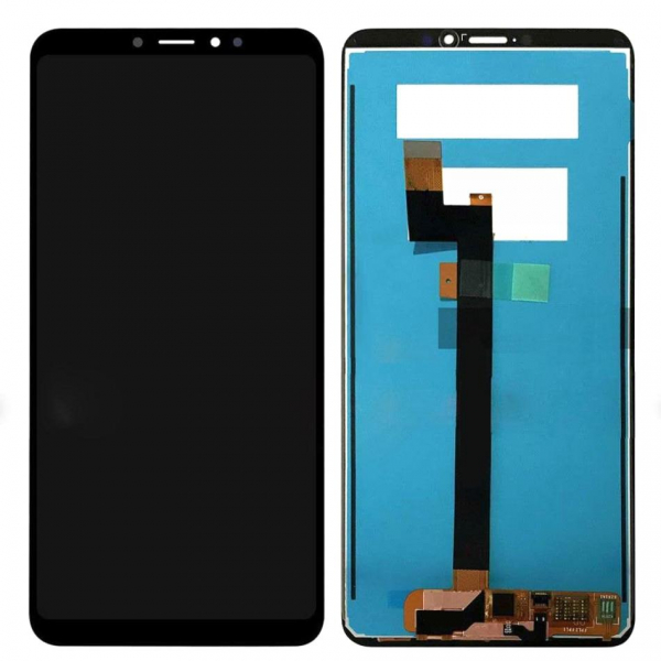 Ecran Display cu touchscreen XIAOMI Mi Max 3 Negru Compatibil 0