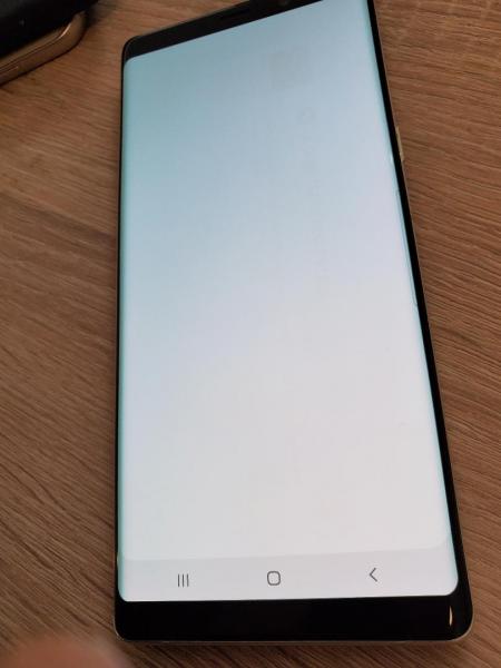 Ecran Display cu touchscreen si rama Samsung Galaxy Note 8 N950 Gold Swap Mic Burn 0