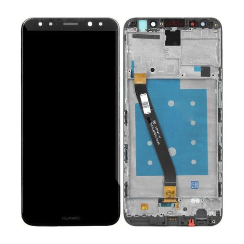 Ecran Display Huawei Mate 20 Lite Negru  cu rama [0]