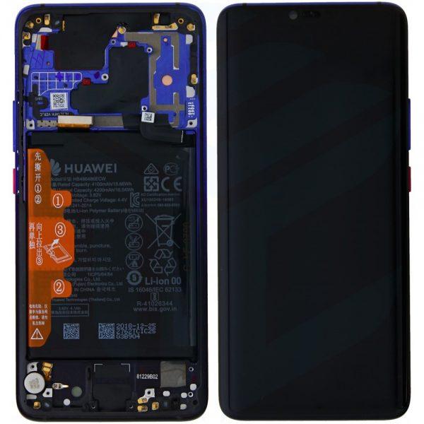 Ecran Display Huawei Mate 20 Pro cu baterie Midnight Blue 0