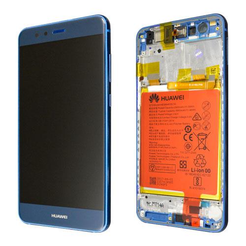 Ecran Display Huawei P10 Lite Service Pack cu rama acumulator Blue [0]