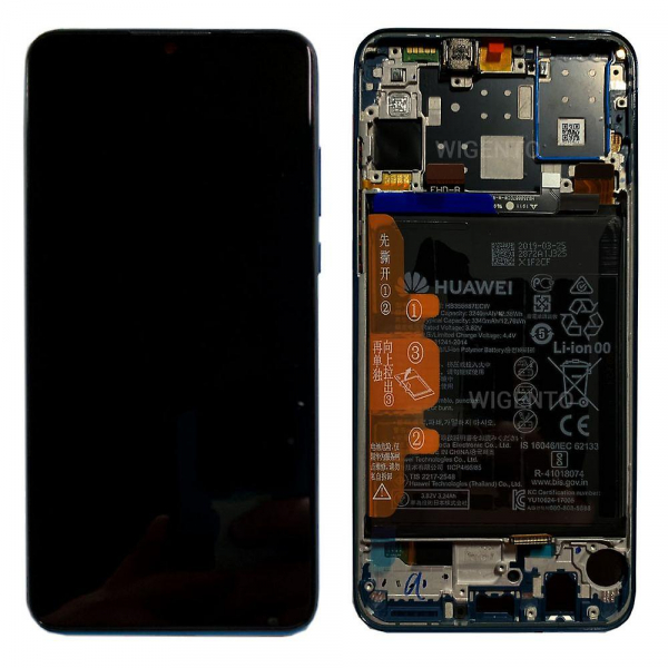 Ecran Display Huawei P30 Lite 2019  48mpx   Service Pack + Acumulator, Negru  MAR-LX1 / MAR-LX1A / MAR-L21 02352RPW [0]