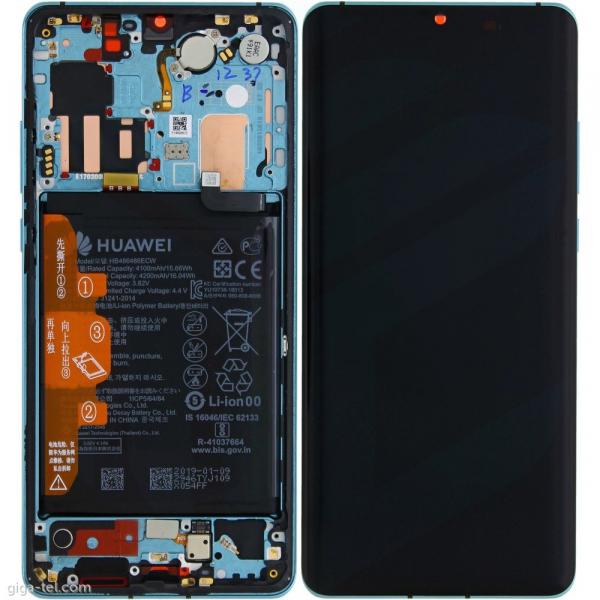 Ecran Display Huawei P30 Pro Service Pack + Acumulator Aurora Blue [0]