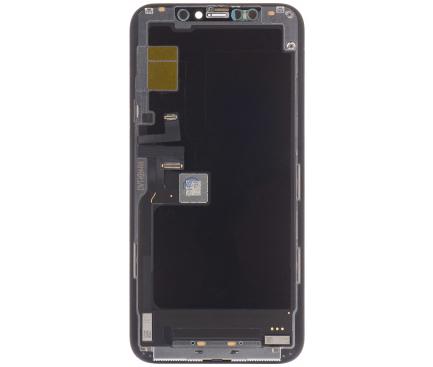 Ecran Display - Touchscreen Negru Apple iPhone 11 Pro , SWAP Original, Dat jos de pe telefon 1