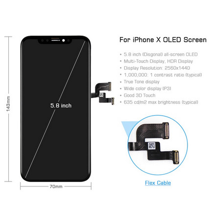 Ecran Display iPhone X Original Reconditionat 1