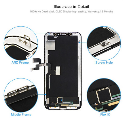 Ecran Display iPhone X Original Reconditionat 2