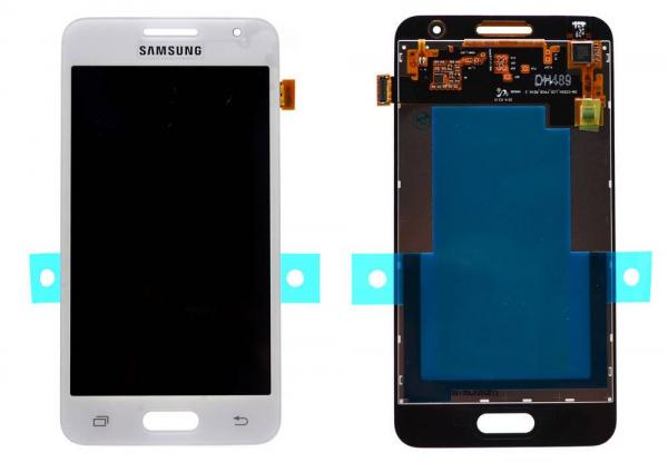 Ecran Display Samsung Galaxy Core 2 G355H Alb [0]