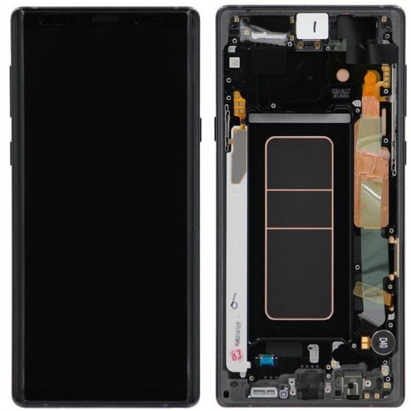 Ecran display Samsung Galaxy Note 9 N960f Negru [0]