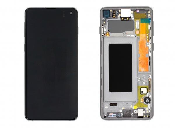 Ecran Display Samsung S10 G973 Negru, GH82-18835A [0]