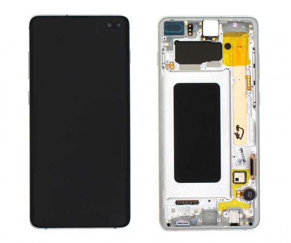 Ecran Display Samsung S10 Plus G975 White Alb GH82-18834B 0