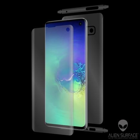 Folie protectie Ecran Display Samsung Galaxy S10 g973 Alien Surface XHD 0