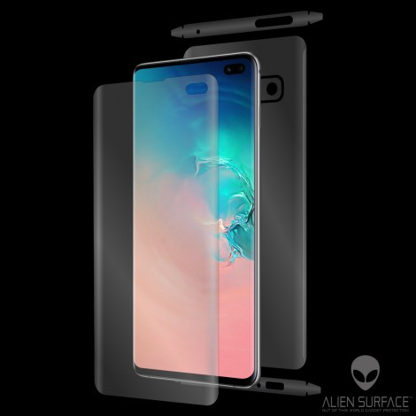 Folie protectie Ecran Display Samsung Galaxy S10 Plus g975 Alien Surface XHD