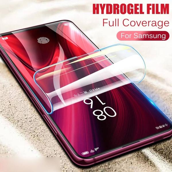 Folie pentru aparat taiat folii MOKCUT , Se lipesc foarte bine si pe ecran curbat pentru orice model de telefon, Folie Hidrogel [3]