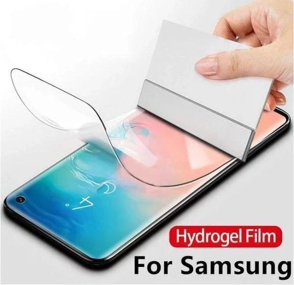 Folie protectie Ecran / Spate HidroGell pentru orice model de telefon, fata sau spate 4