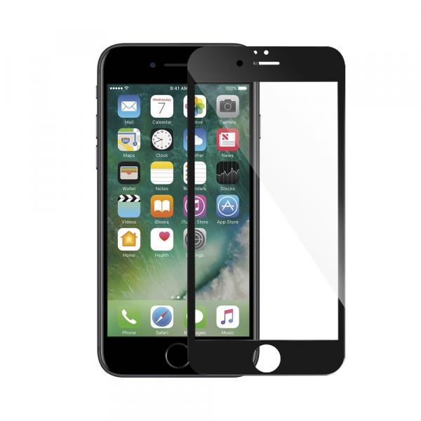 Folie Sticla 9D pentru iPhone 6 Plus / iPhone 6s Plus Negru [0]