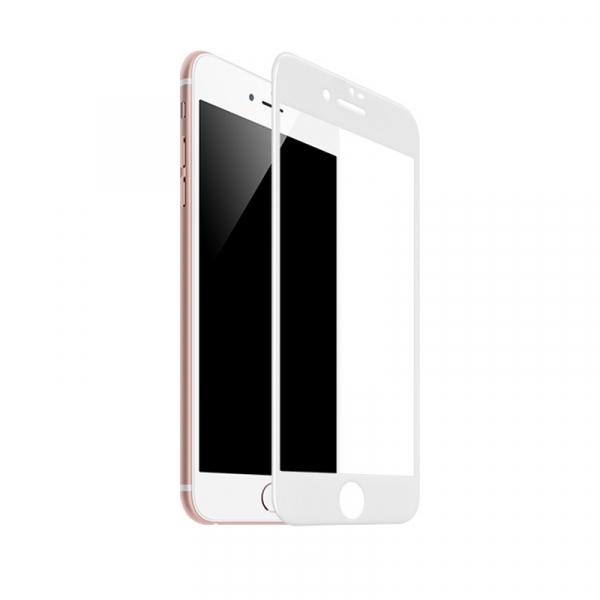 Folie Sticla 5D Full Glue iPhone 7 iPhone 8  SE 2020 Alba [0]