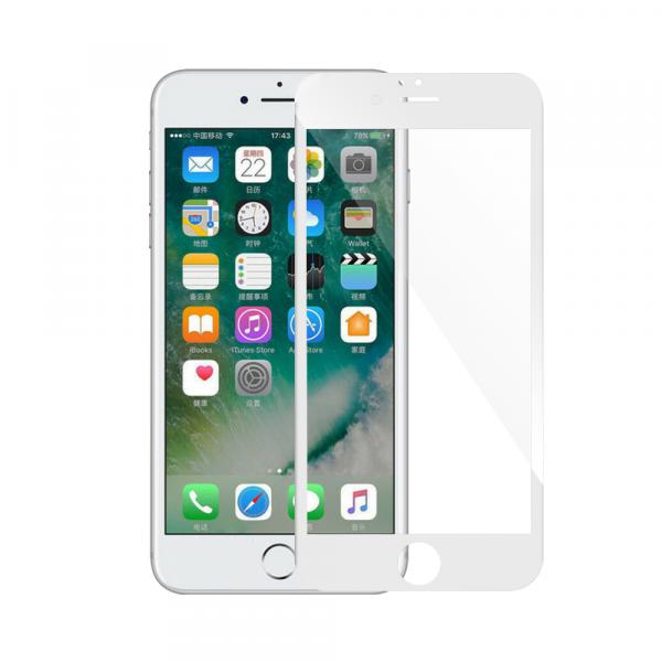 Folie Sticla 9D pentru iPhone 6 Plus / iPhone 6s Plus Alb [0]