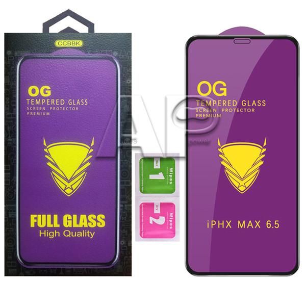 Folie Sticla 9D OG Full Glue iPhone 7 Plus iPhone 8 Plus, Black 0