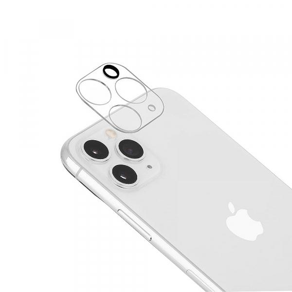 Folie sticla camera iPhone 11 Pro / 11 Pro Max, Negru, Full Glue 0