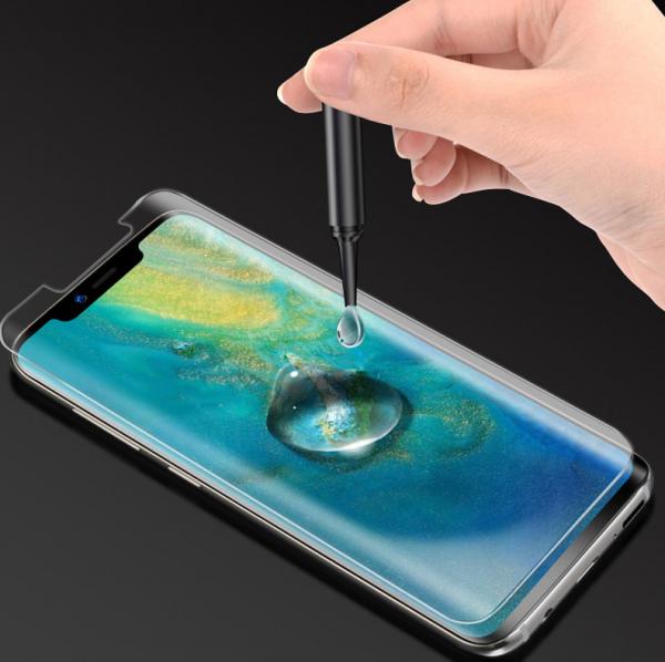 Folie Sticla Protectie Ecran cu Gel UV pentru Huawei P30 0