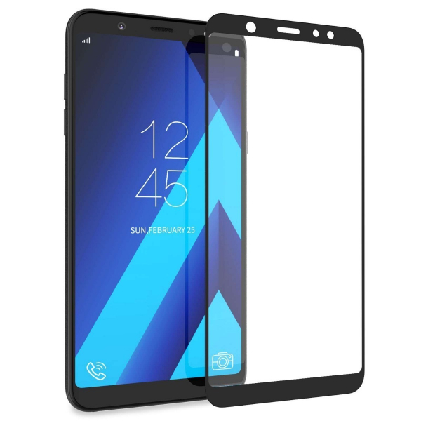 Folie Sticla 5D Samsung A605 A6 Plus, J8 2018, Negru, 5D