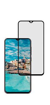 Folie Sticla Samsung M20 Negru, 2.5D 0