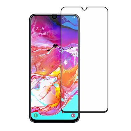 Folie Sticla Samsung A70 A705 Negru, 2.5D 0