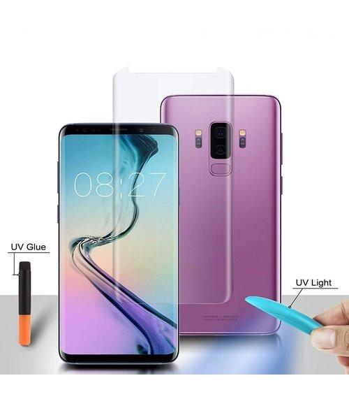 Folie Sticla Protectie Ecran cu Gel UV pentru Huawei Mate 20 Pro 0