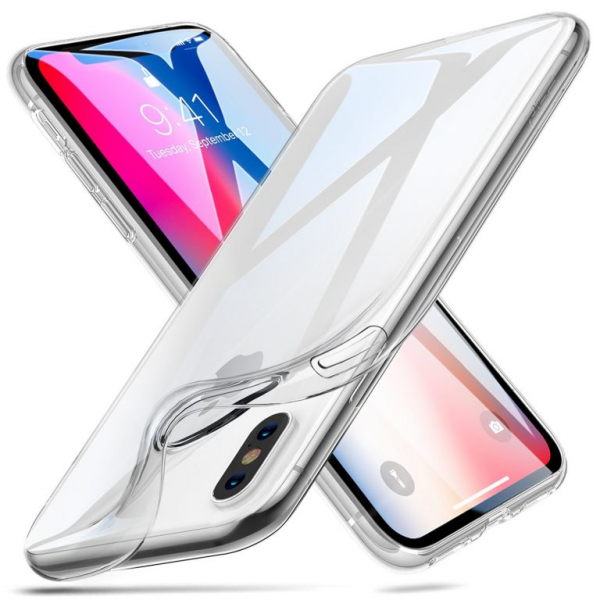 Husa slim ESR Eseential Zero iPhone XS Max, Clear White 1