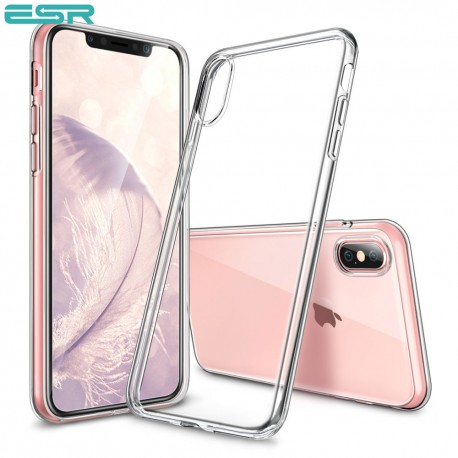 Husa slim ESR Eseential Zero iPhone XS Max, Clear White 0
