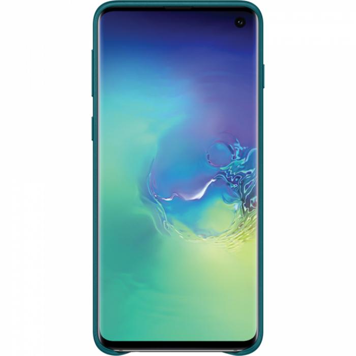 Husa Piele pentru Samsung Galaxy S10 G973f, Green 1