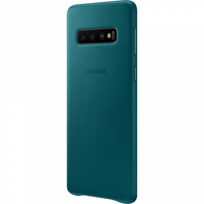 Husa Piele pentru Samsung Galaxy S10 G973f, Green 3