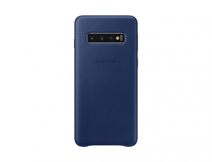 Husa Piele pentru Samsung Galaxy S10 G973f, Navy 0