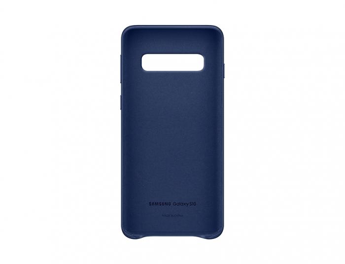 Husa Piele pentru Samsung Galaxy S10 G973f, Navy 3