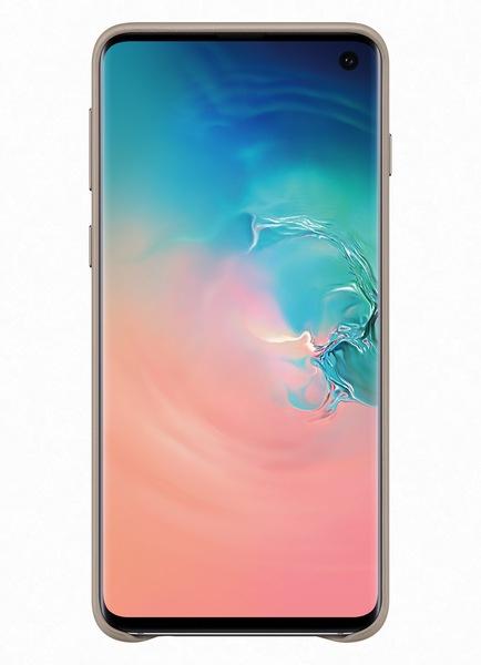 Husa Piele pentru Samsung Galaxy S10 G973f, Gray 1