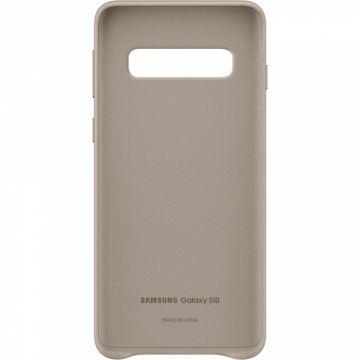 Husa Piele pentru Samsung Galaxy S10 G973f, Gray 2