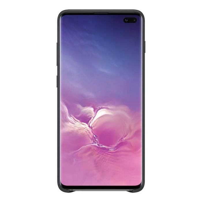 Husa Piele pentru Samsung Galaxy S10 Plus G975f, Neagra 2