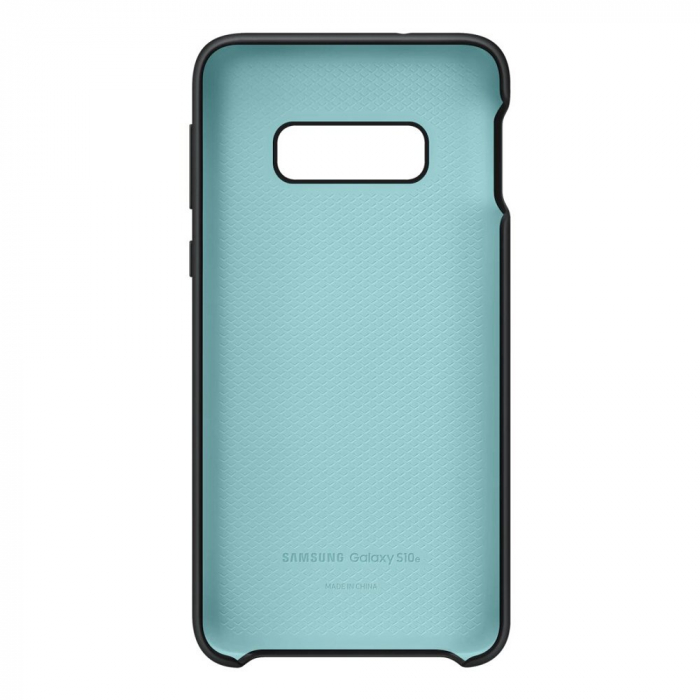 Husa spate Silicone Cover Flexible Gel pentru Samsung Galaxy S10e, neagra 4