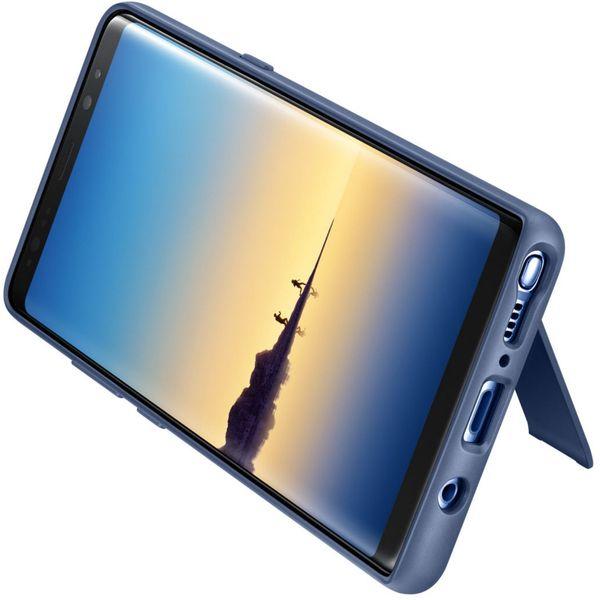 Husa Protective Standing Blue pentru Samsung Note 8 N950f, Originala [0]