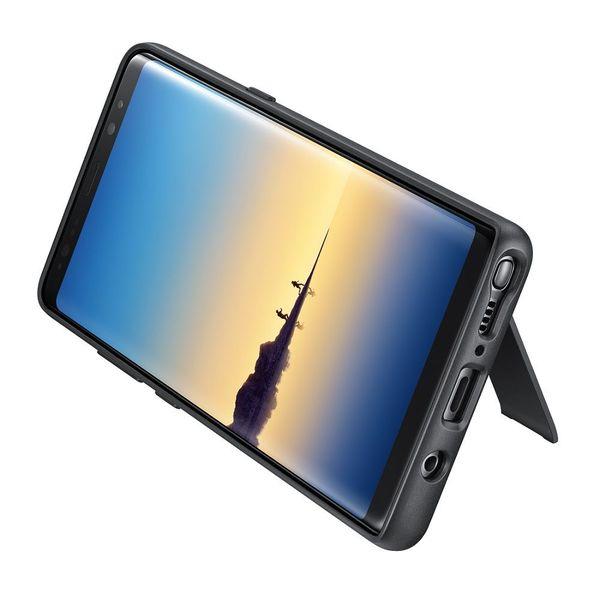 Husa Protective Standing Negru pentru Samsung Note 8 N950f, Originala [0]
