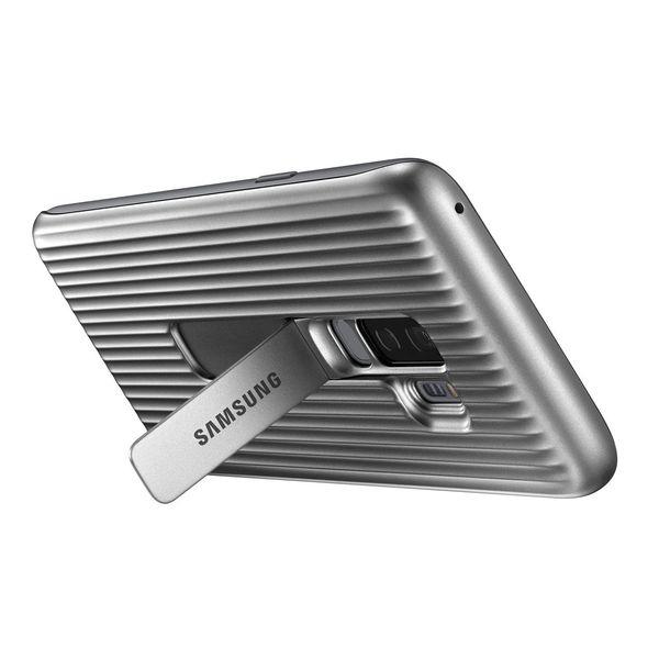 Husa Protective Standing Silver pentru Samsung S9 Plus G965f, Originala [1]